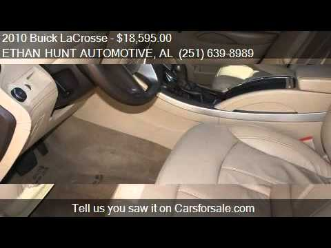 2010 Buick LaCrosse CXL 4dr Sedan for sale in MOBILE, AL 366