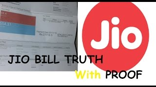 [WITH PROOF] Reliance JIO Bill FAKE or REAL ! | JIO 4G BIll Reality | RS 27718 Jio Bill