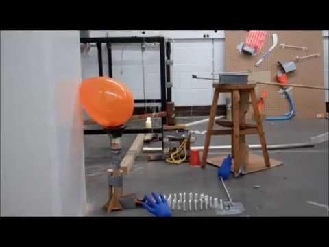 Rube Goldberg Machine Lights up the CN Tower