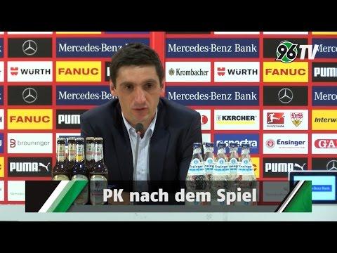 6. Spieltag | VfB Stuttgart - Hannover 96 | PK nach dem Spiel...