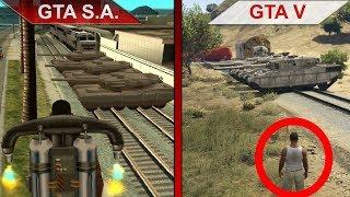 THE BIG GTA San Andreas vs. GTA V SBS COMPARISON 3 | PC | ULTRA