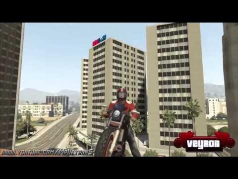 GTA 5   Cascades !  GTA V Online Stunt Compilation