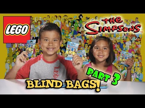 LEGO The SIMPSONS Minifigures! Blind Bag Opening PART 3