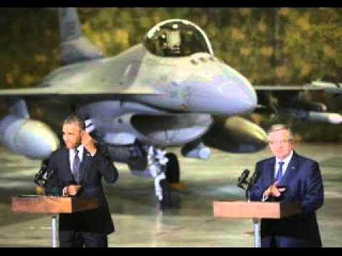 Barack Obama pledges to boost U S  military presence in Europe