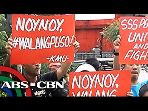 Bandila: Senior citizens protest PNoy's veto on pension hike bill