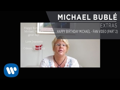 Happy Birthday Michael - Fan Video [Part 2]