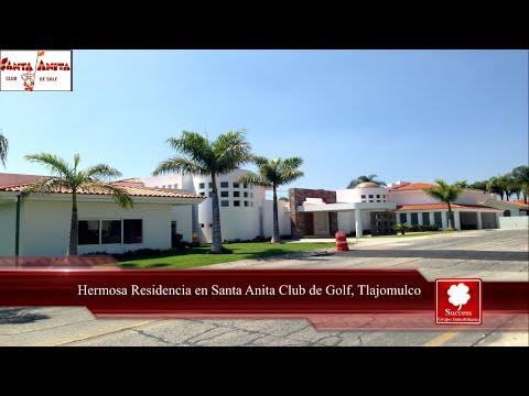 Hermosa Residencia en Venta en Club de GolfSanta Anita, Tlajomulco www.comprandoinmuebles.com