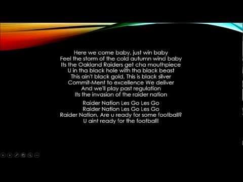 Raider Nation Lyrics Cube Raider Nation Lyrics