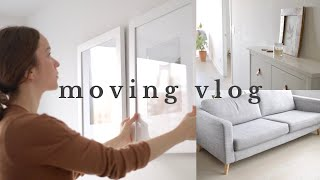 WE MOVED! Our New Minimalist Home [moving vlog]