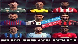 PES 2013 - SUPER FACES PATCH 2019 ● +4000 Faces AIO ✔