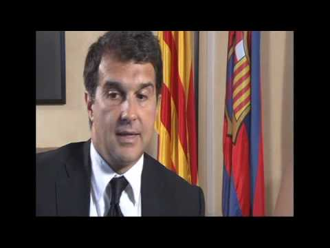 TWG interview with Barcelona FC president Laporta Part 3/4