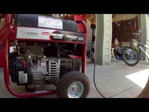 Coleman Powermate Generator  Review