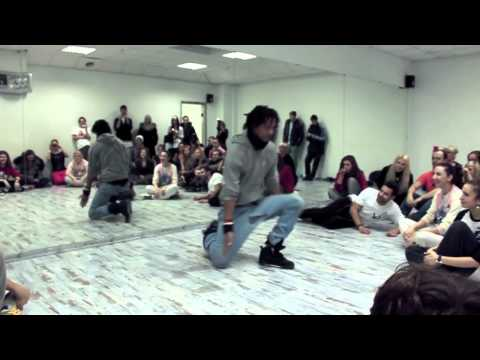 Les Twins in Open art studio | Kiev