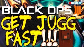 "How To Get Jugg FAST ""Location"" in Shadows of Evil (Black Ops 3 Zombies Gameplay)"