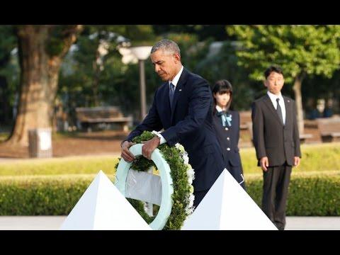 President Barack Obama Historic Visit to Hiroshima, Japan. (5-27-16) Full Speech Obama in Hiroshima
