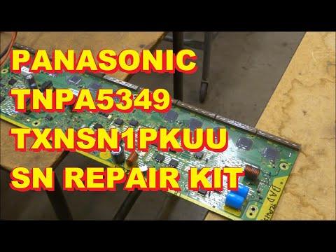 TNPA5349 TXNSN1PKUU SN Board Repair Kit Installation