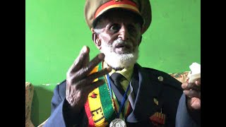 92 years old Ethiopian war veteran about Italian war prisners and the war