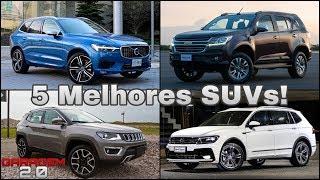 5 Melhores SUVs a Venda No Brasil! (Garagem 2.0)