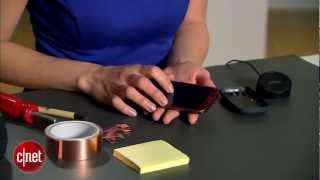 CNET How To - Add wireless charging to the Samsung Galaxy S3