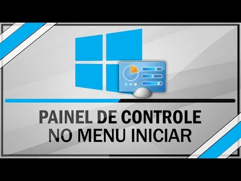 Windows 8.1 - Painel de controle no menu iniciar do windows 8 e 8.1