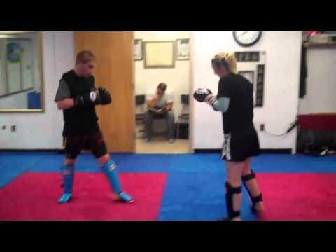 Muay Thai Catch ,Pass and Sweep counter to muay thai kicks Image 1