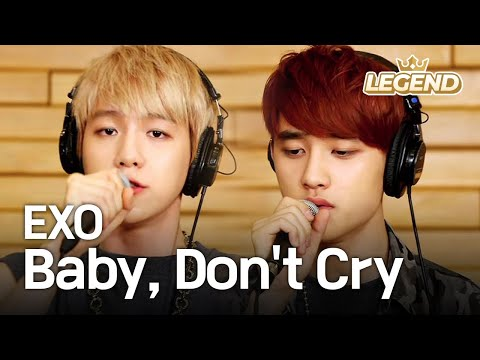 Global Request Show : A Song For You - Baby Dont Cry by EXO 0830