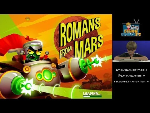 ATTACKED BY ROMAN MARTIANS!! Let's Play Mobile Games!