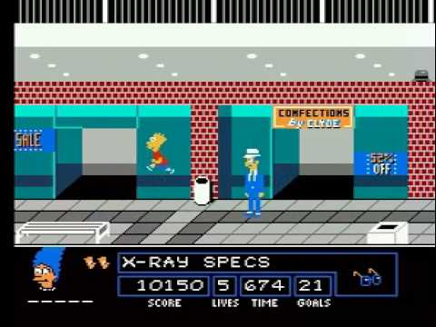 TAS The Simpsons Bart vs. The Space Mutants NES in 15:19 by IvanovishGC