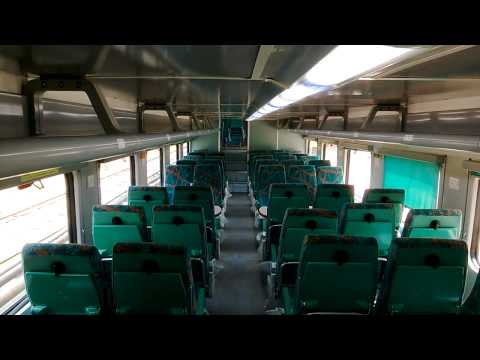 Chennai - Bangalore Double Decker Express interior