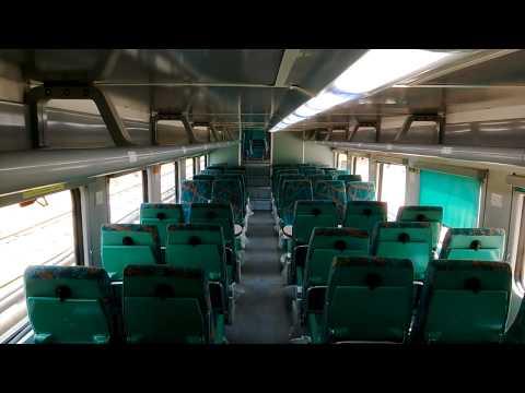 Chennai - Bangalore Double Decker Express interior