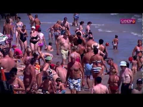 Playa de Gandia Agosto 2012