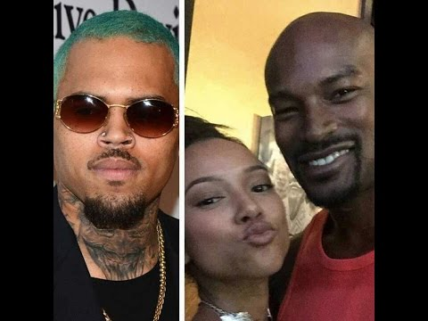 Tyson Beckford Pulls out the Choppa for Chris Brown. Chris Says the Police Saved Tyson!