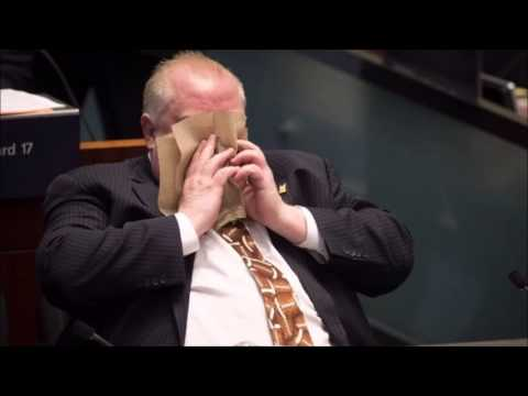 Controversial Toronto Mayor Rob Ford Runs For Re-election
