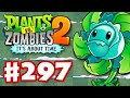 Plants vs. Zombies 2: It's About Time - Gameplay Walkthrough Part 297 - Hurrikale! Frostbite Caves!