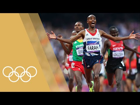 Mo Farah [GBR] - Men's 10,000m & 5,000m | Champions of 2012