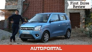 2019 Maruti Suzuki WagonR Test Drive Review — Autoportal