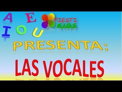 Vocales en Espanol Para Ninos Las Vocales Para ni os