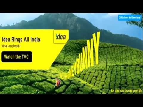 Idea Rings All India Hello Honey Bunny with Lyrics