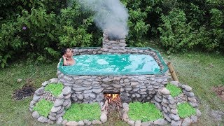 Building Hot Tub Spa Without Using Modern Technology