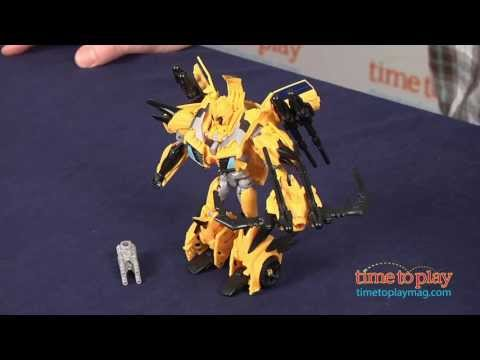Transformers Prime Beast Hunters Bumblebee from Hasbro