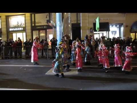 San Francisco Chinese New Year Parade 2014 Presidio Knolls School