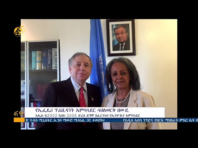 Ethiopia: Who Is President Ambassador Sahlework Zewde? | Fana TV