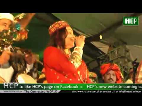 Pakistani Folk Singer Shazia Khusks Special performance in Ayubia...