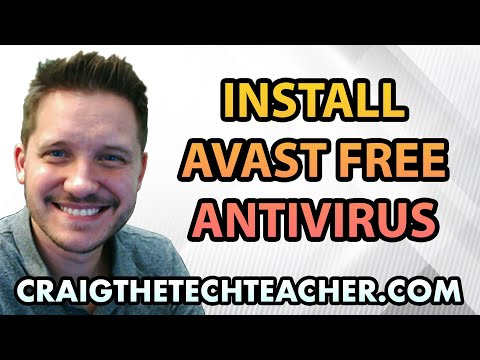 How To Install Avast Free Antivirus On Windows 8 - Ep. 4