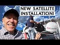 How We Installed A Satellite TV For Our RV
