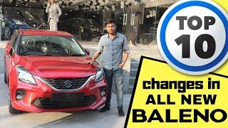 New BALENO Facelift : Top 10 changes you will see | My overview | BALENO 2019 |FACELIFT