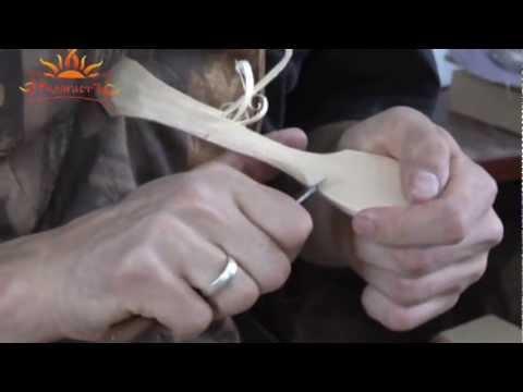 Вырезание ложки