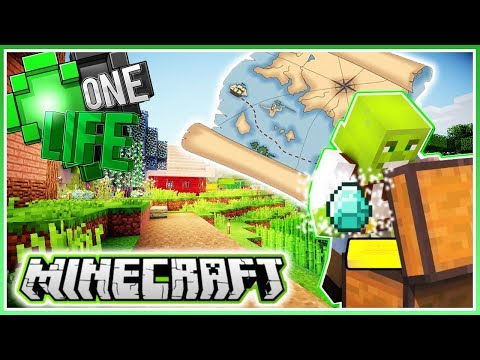 Awesome Treasure Hunt!   Minecraft One Life 2.0   Ep.12