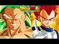 Super Saiyan God Vegeta In The Dragon Ball Super Broly Movie