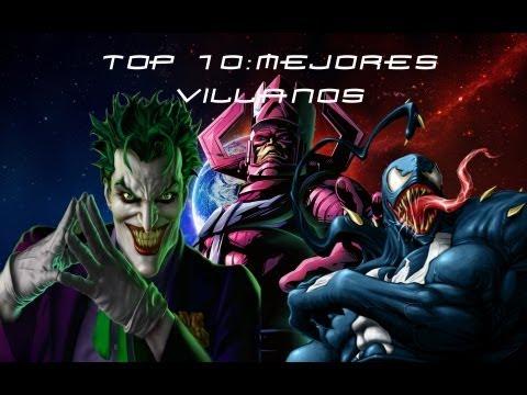 Top 10: Mejores Villanos de la Historia Según Yo [Parte 2]